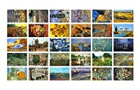 30 PCSクラシック美しい風景写真のポストカード芸術的なグリーティングカード - D1