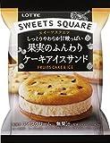 ロッテ SWEETS SQUARE 果実のふんわりケーキアイスサンド50ml×24袋