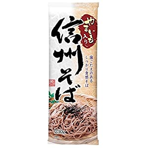 日本製粉 信州そば 山芋入り 230g