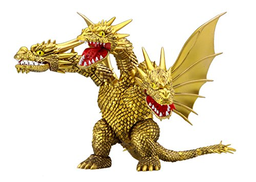Fujimi model cibimargozilla series No.4 King ghidorah scale color has been plastic model cibigodzilla 4