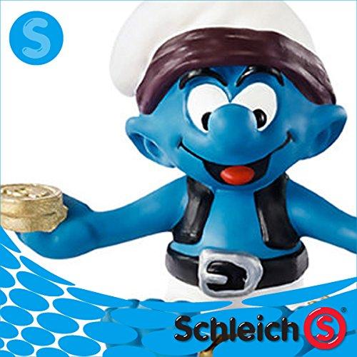 Schleich シュライヒ社フィギュア 20766 スマーフ トレジャーハンター Treasure hunter Smurf