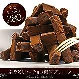 訳あり 切れ端 バレンタイン チョコレート 義理チョコ ご自宅用 生チョコ 濃厚プレーン 280g