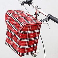 Yuiopバイクハンドルバーバッグ、ハンドルバーバッグ、防水自転車バッグバイクCommuter Carrierトランクバッグクイックリリース自転車フロントPannier Bagアウトドアアクティビティ 16x25x28 cm