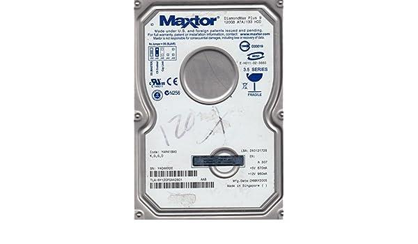 Maxtor 120gb 3.5 inch ide 7200 k desktop hard drive 6Y120P0