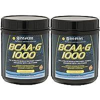 【2個セット】 BCAA(分岐鎖アミノ酸)+Lグルタミン[海外直送品]