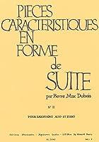 デュボア : 性格的小品集 ロシア風に (サクソフォン、ピアノ) ルデュック出版