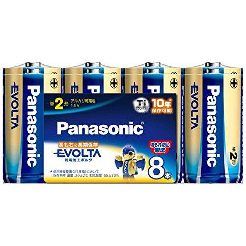 エボルタ 電池単2/LR14EJ/8SW8P
