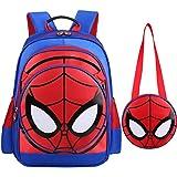 3D Spiderman Primary School Kids Backpack Kindergarten Backpacks Daypack