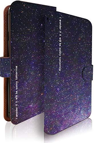 KEIO ケイオー Tommy カバー 手帳型 空 tomy 手帳 雲 星 流れ星 Tommy ケース 星空 星2 トミー 手帳型ケース ウイコウ 手帳型ケース ittn星空星2t0575