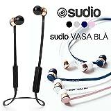 Sudio スーディオ Vasa Bla ヴァーサ ブローBluetooth対応 ワイヤレスイヤフォン リモコン付き (ブルー)