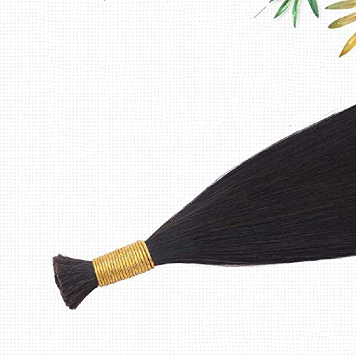 商人肺トラブルJULYTER ナノリングヘアエクステンション100%存在する人間の髪の毛マイクロナノ50G /フリーリングは含まれています(生物学的色) (色 : Natural color, サイズ : 70cm)