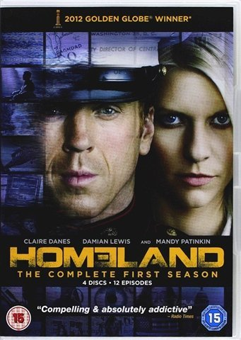 HOMELAND - COMPLETE FIRST SEASON 4 DISC (INCLUDES EXCLUSIVE STORY EXTENSION)+ SLIPCASE EDITION !!!