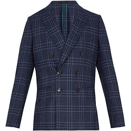 (ポールスミス) Paul Smith メンズ アウター スーツ・ジャケット Soho-fit checked wool-blend blazer 並行輸入品