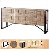 どんどんどんの家具 キャビネット ディスプレイ ナチュラル 北欧 モダン 幅150cm