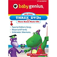 Baby 3-Pack: Favorite Children's Songs / Mozart [DVD] [Import]