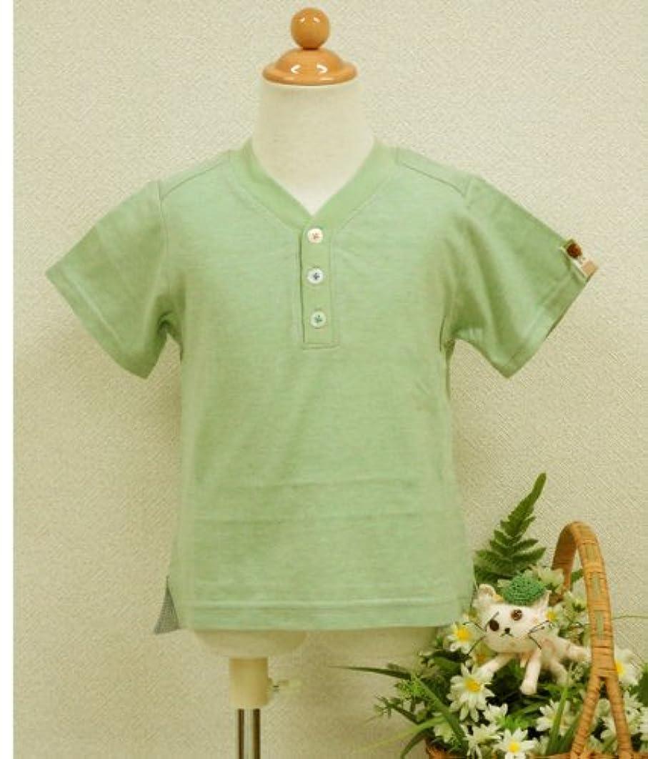 遠えの面ではノイズ(ビオ?テテ)Bio-tete 日本製 半袖Tシャツ