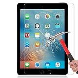 NIMASO™ iPad Pro 9.7 タブレット PC用 ケース 旭硝子製 強化ガラス 液晶保護フィルム 高鮮明・防爆裂・スクラッチ防止・気泡ゼロ・指紋防止対応・硬度9H