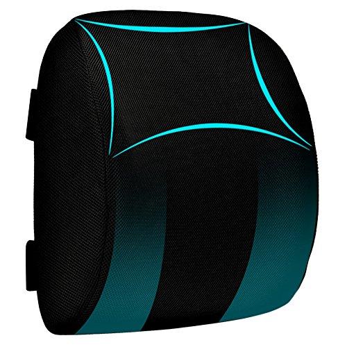 ランバーサポート KAIDI 背もたれクッション 腰まくら 低反発クッション 腰痛予防 姿勢矯正 形状記憶フォーム 骨盤サポート オフィスチェア 椅子 座席ドライブ 運転クッション