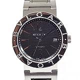 [ブルガリ]BVLGARI メンズ腕時計 ブルガリ・ブルガリ BB38SS ブラック文字盤【中古】