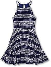 Penelope Tree DRESS ガールズ カラー: ブルー
