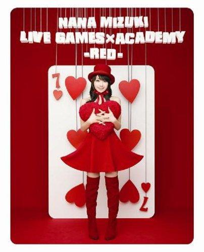 NANA MIZUKI LIVE GAMES×ACADEMY-RED- [Blu-ray] 水樹奈々 水樹奈々 キングレコード