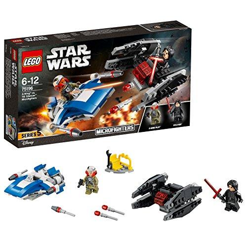 レゴ(LEGO) スター・ウォーズ A-ウィング™ vs.TIE サイレンサー™ マイクロファイター 75196