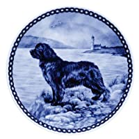 デンマーク製 ドッグ・プレート (犬の絵皿) 直輸入! Newfoundland / ニューファンドランド