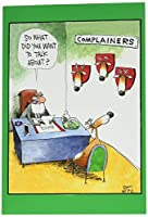 1540 'Complainers' - Funny Merry Christmas Greeting Card with 5 x 7 Envelope by NobleWorks [並行輸入品]