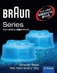 ブラウン アルコール洗浄液 メンズシェーバー用 2個入り CCR2 CR 正規品
