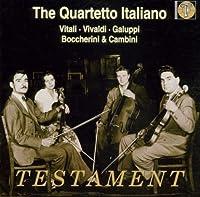The Quartetto Italiano Plays Vitali, Vivaldi, Galuppi, Boccherini & Cambini (1998-08-01)