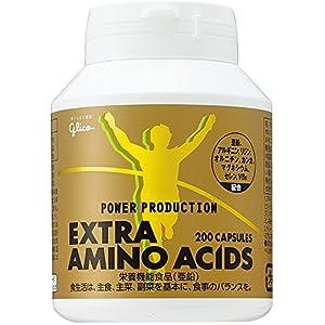 グリコ パワープロダクション エキストラ アミノアシッド 回復系サプリメント 78.4g(標準200粒)