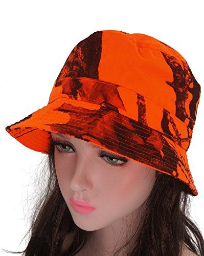 Roffatide オーク 迷彩 サファリハット 釣り帽子 サンバイザー つば広 旅行 登山 屋外作業 アウトドア スポーツ ハンチング UV対策 男女兼用