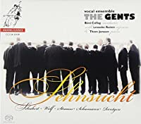 Sehnsucht - Romantic Repertoire by Schubert; Wolf; Strauss; Rontgen by The Gents (2010-01-12)