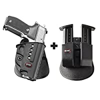Fobus 226ND / 21ndパドルスマートConceal concealed carryホルスターNorinco nc226+ 6909NDダブルマガジンポーチ