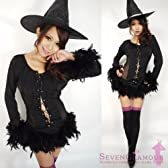 ハロウィン コスプレ 魔女 魔法使い 衣装