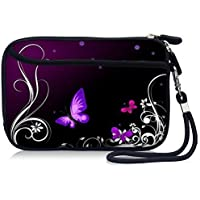 Designed Waterproof Shockproof Wallet Carrying Case Cover with Extra Front Pocket For Hand Held Game Player / Game Console Nintendo 3DS LL DSi XL 3DS XL, PSP 1000 2000 3000 PlayStation Vita, HDC6-A52#03 by GoldenStar [並行輸入品]