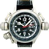 """[エアロマティック1912]Aeromatic1912 腕時計 二戦復刻""""ワールドツアー"""" BIG-DATE A1299 [並行輸入品]"""