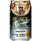 ブラックニッカクリア ハイボール 缶350ml [ ウイスキー 日本 350mlx24本 ]