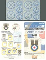 Echelon Fine Decal 1: 35Allied RAF Air認識Roundelステンシルマスク# d356040