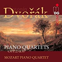 PIANO QUARTETS opp.23&87 by A. Dvorak
