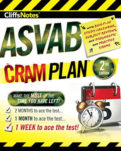 CliffsNotes ASVAB Cram Plan 2nd Edition (English Edition)