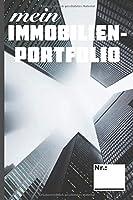 Mein Immobilienportfolio: Organisiere deine Immobilien Investments. Immo Planer Check fuer Rendite und Mieteinnahmen. perfekte Geschenk fuer den Immobilieninvestoren.