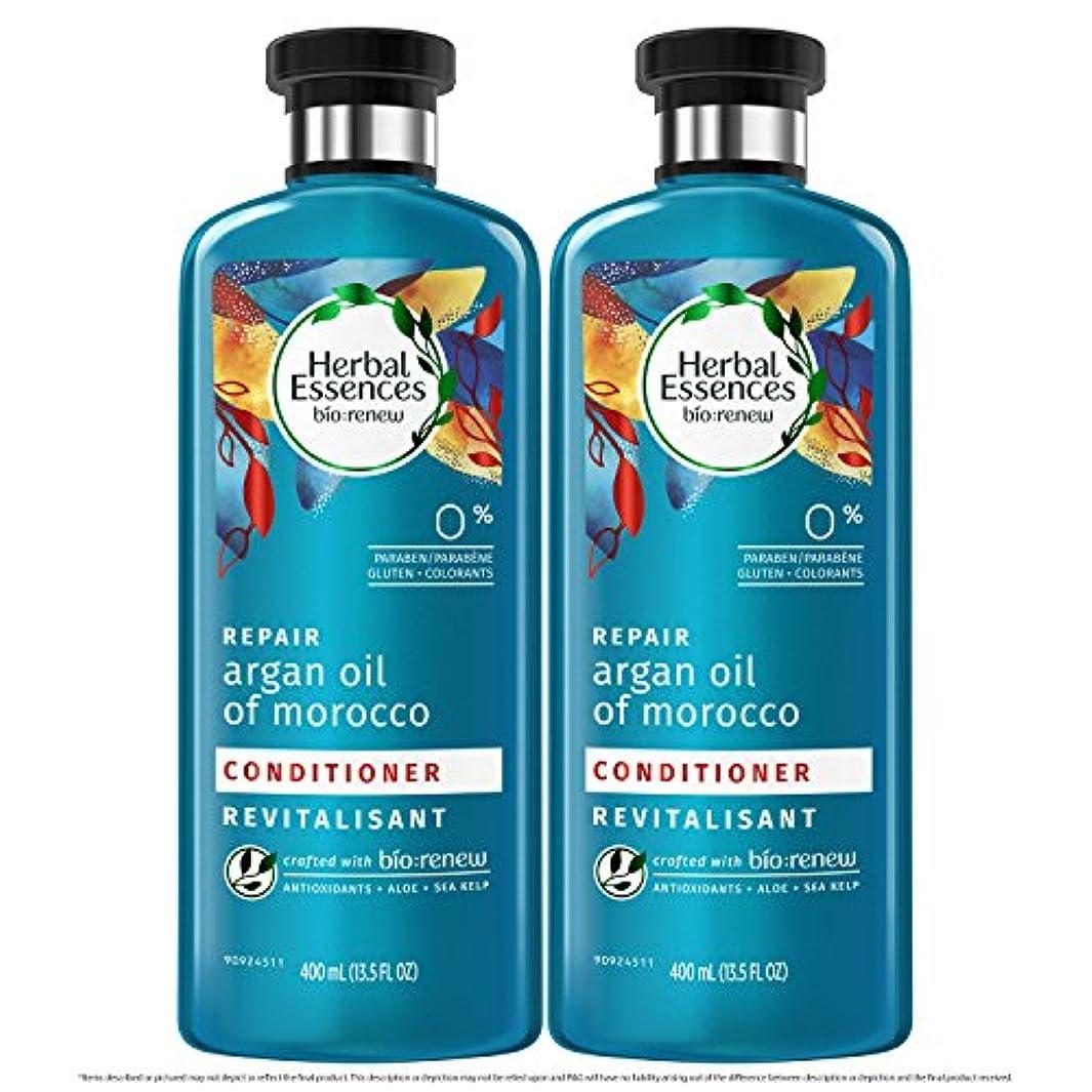 法廷理由定期的海外直送品  Herbal Essences  アルガンオイル、モロッカンオイル シャンプー&コンディショナー