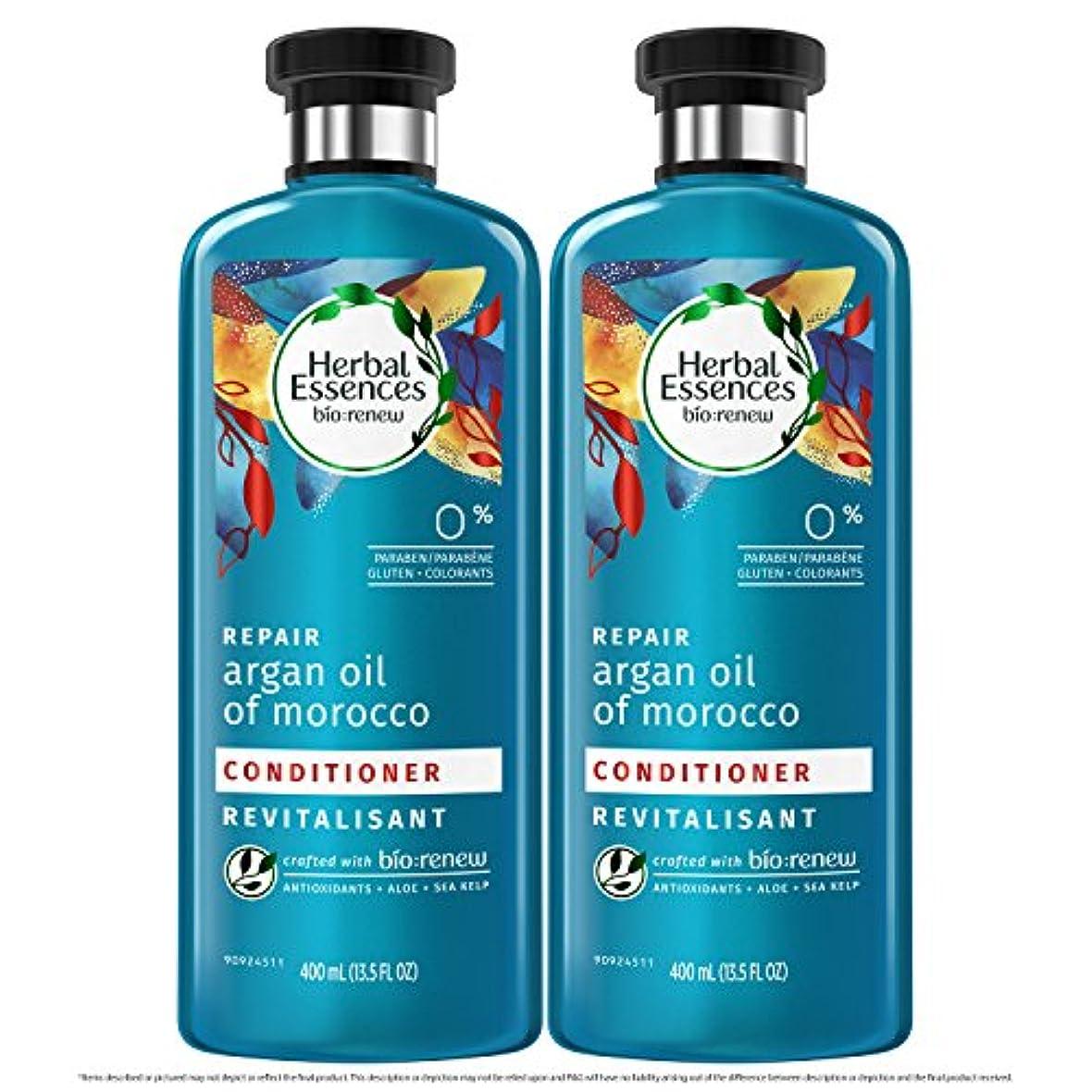 決定する追加アサー海外直送品  Herbal Essences  アルガンオイル、モロッカンオイル シャンプー&コンディショナー
