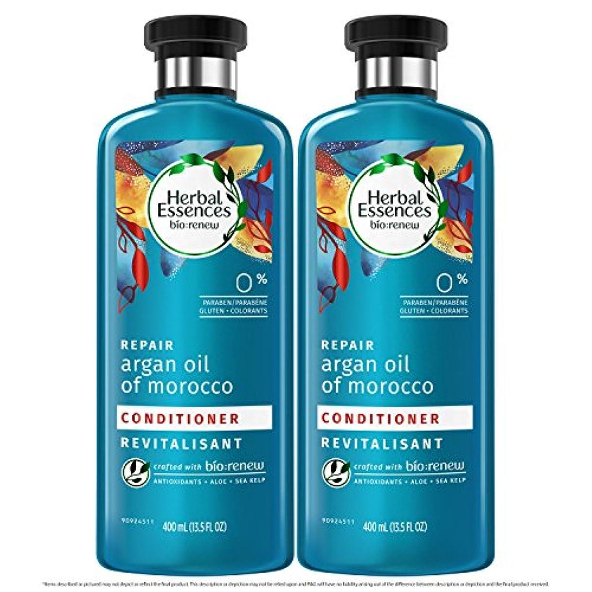 発行ほうき混沌海外直送品  Herbal Essences  アルガンオイル、モロッカンオイル シャンプー&コンディショナー