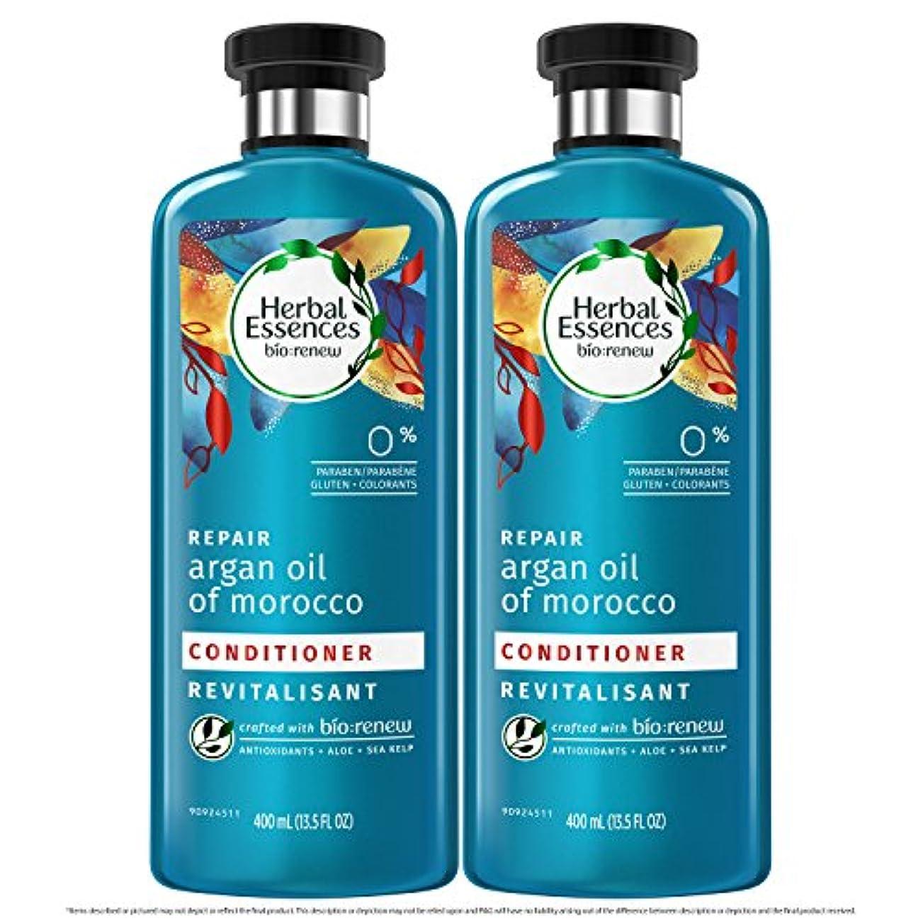 酸っぱい傾向があるフローティング海外直送品  Herbal Essences  アルガンオイル、モロッカンオイル シャンプー&コンディショナー