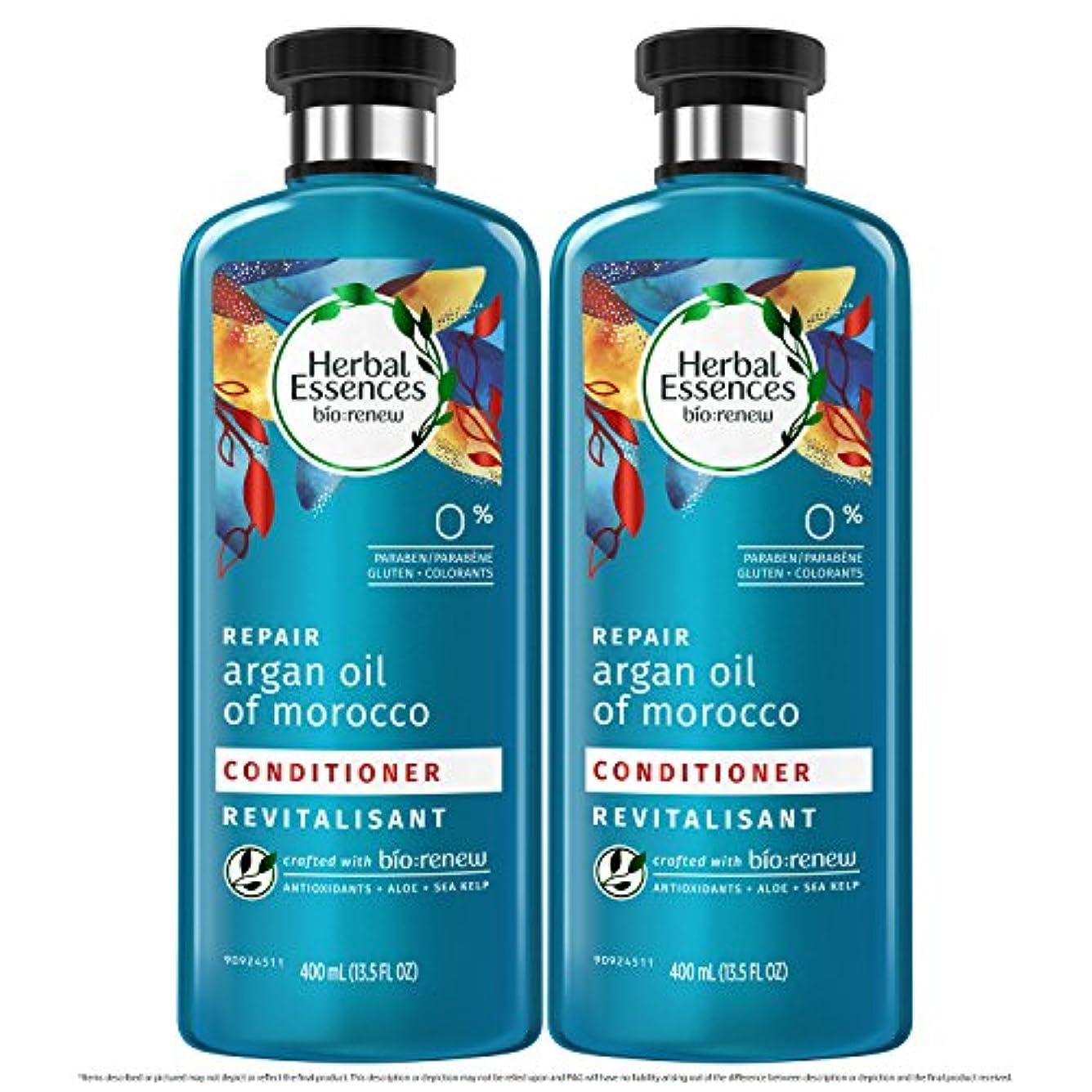 押すドリル自動化海外直送品  Herbal Essences  アルガンオイル、モロッカンオイル シャンプー&コンディショナー