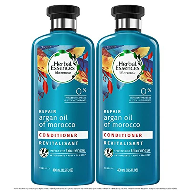遠え強要自治海外直送品  Herbal Essences  アルガンオイル、モロッカンオイル シャンプー&コンディショナー