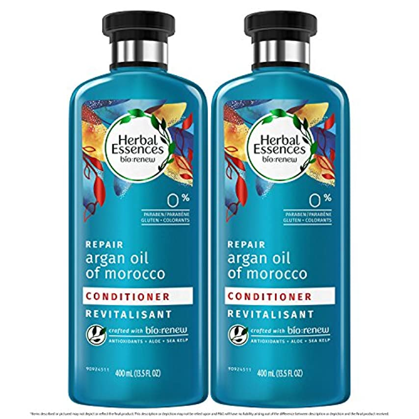 東方不適ハイブリッド海外直送品  Herbal Essences  アルガンオイル、モロッカンオイル シャンプー&コンディショナー