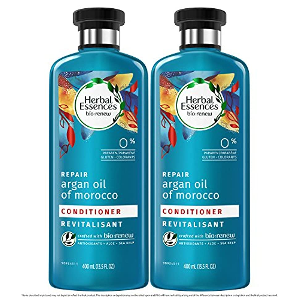オートメーション粗いく海外直送品  Herbal Essences  アルガンオイル、モロッカンオイル シャンプー&コンディショナー
